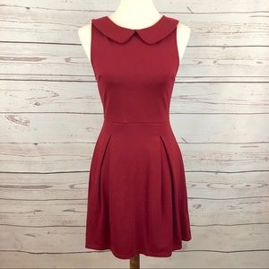 NWOT Cooperative UO Red Peter Pan Dress
